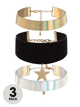 v-by-very-3-pk-wide-choker-with-star-detail-charm-amp-plain-colours