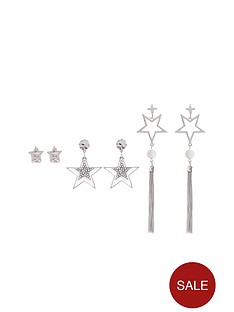 v-by-very-3-pk-star-detail-earrings