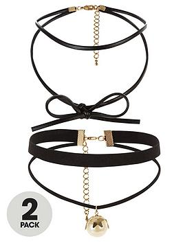 v-by-very-2-pack-bow-amp-drop-pearl-detail-choker-set