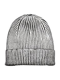 v-by-very-metallic-beanie-hatnbsp