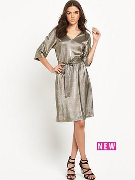 vero-moda-silver-metalic-dress