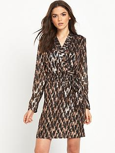 vero-moda-black-gold-wrap-dress