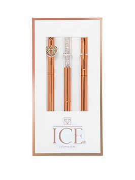 ice-london-rose-gold-pen-trio