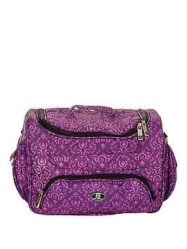 Photo of Roo beauty ella cosmetic/accessory bag - purple