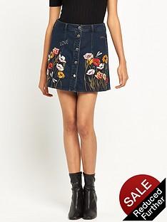 river-island-embroidered-a-line-denim-skirt