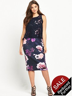 so-fabulous-curve-double-layer-scuba-midi-dress-floral-print