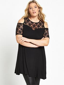 so-fabulous-curve-lace-sleeve-swing-tunic