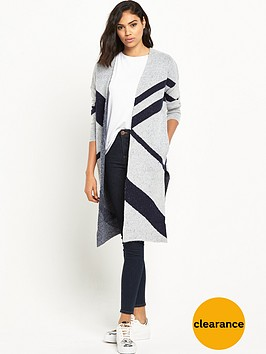 river-island-oversized-blocked-cardigan