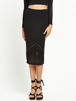 river-island-studded-mesh-knit-pencil-skirt