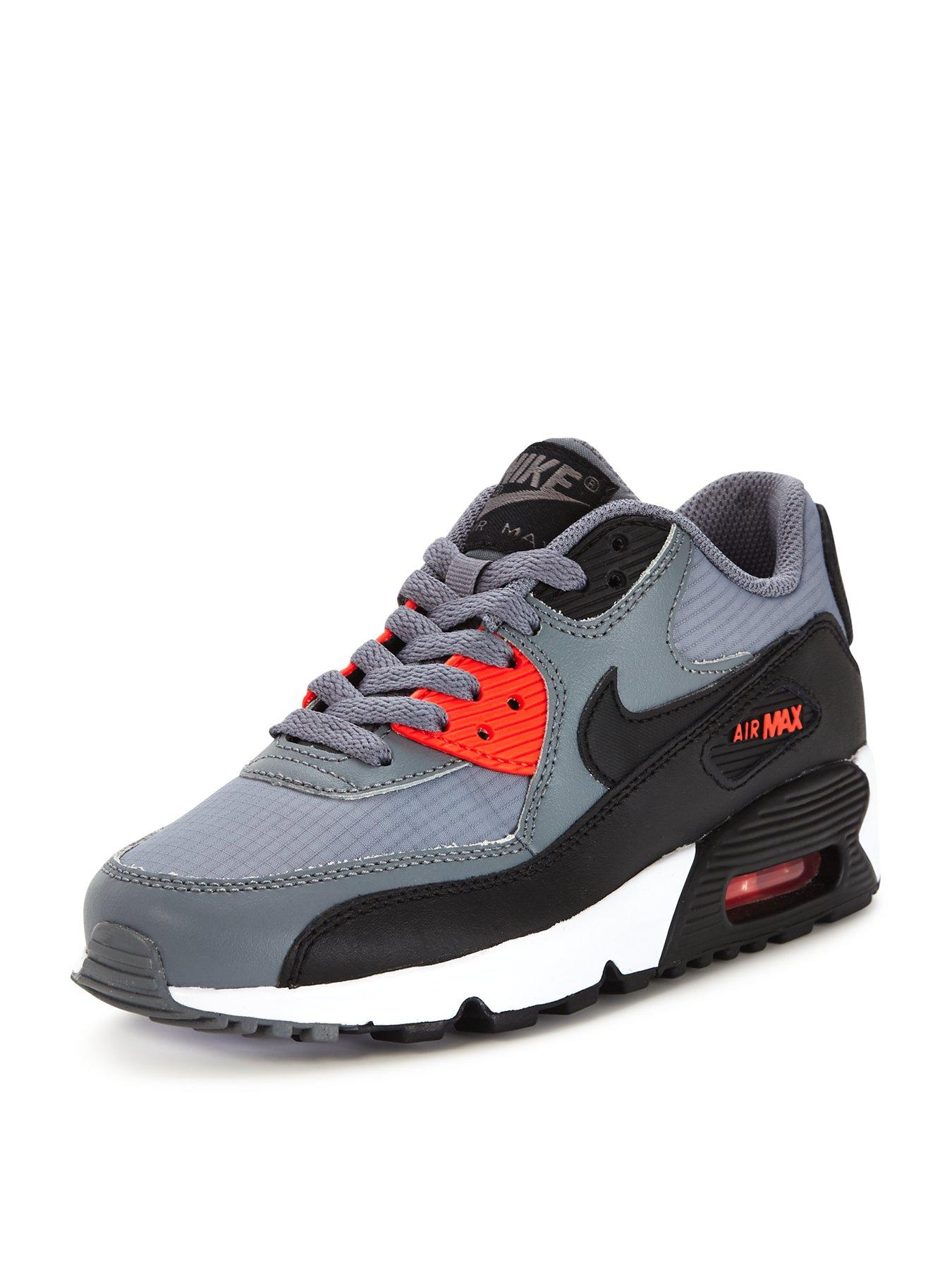 Nike Air Max 90 Junior Trainers Black