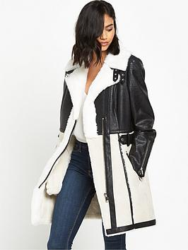 river-island-faux-shearling-coat