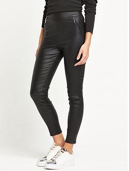 river-island-black-coated-leggings