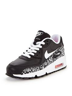 nike-air-max-90-print-leather-junior