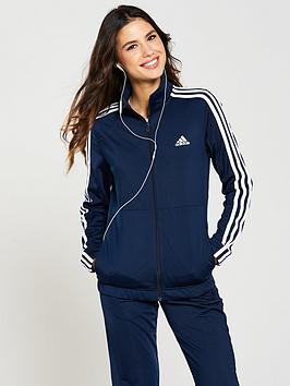 Adidas Back 2 Basics 3 Stripe Tracksuit