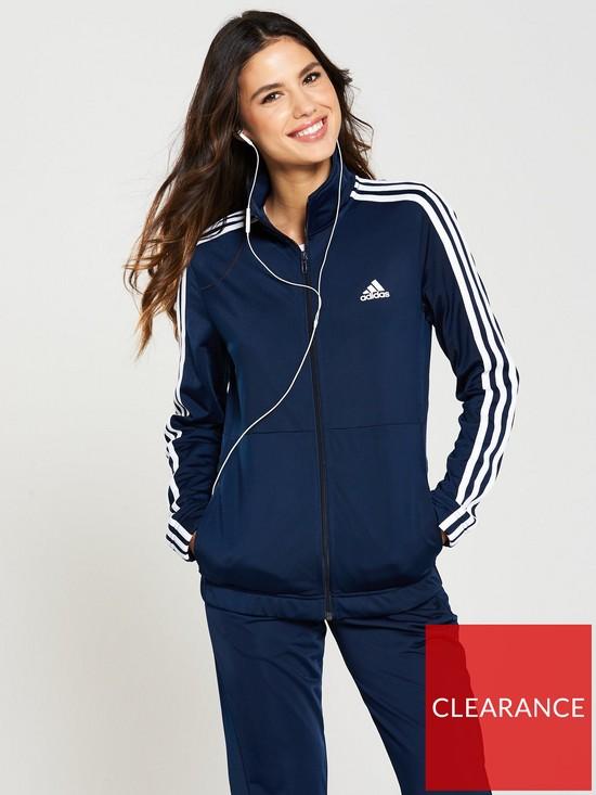 5b7523dc621a adidas Back 2 Basics 3 Stripe Tracksuit