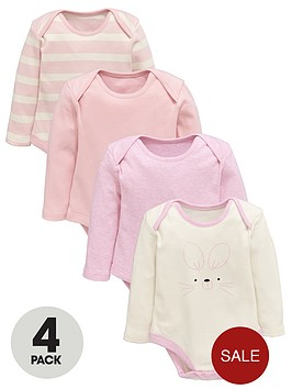 ladybird-baby-girls-pink-long-sleeve-bodysuits-4-pack
