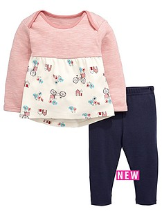 ladybird-baby-girls-bicycle-print-t-shirt-and-leggings-set