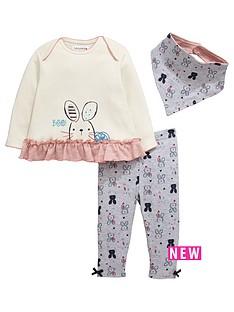 ladybird-baby-girls-bunny-bandana-bib-t-shirt-and-leggings-set