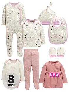 ladybird-babynbspgirls-pink-layette-set-8-piece
