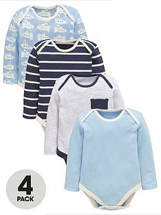 ladybird-baby-boys-blue-long-sleeve-bodysuits-4-pack