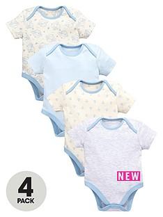 ladybird-baby-boys-4pk-blues-ss-bodysuits