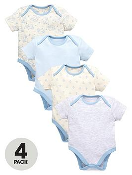 ladybird-baby-boys-blue-bodysuits-4-pack