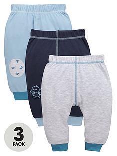 ladybird-baby-boys-jersey-monkey-amp-anchor-3pk-joggers