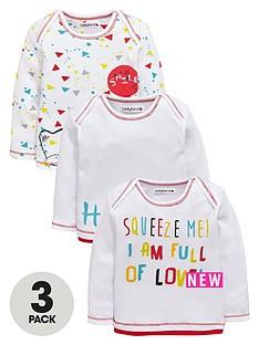 ladybird-baby-unisex-3pk-bear-and-slogan-long-sleeve-t-shirts