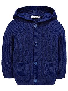 ladybird-baby-boys-cable-knit-hooded-cardigan
