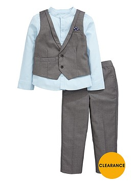 mini-v-by-very-boys-charcoal-and-blue-waistcoat-shirt-and-trousers-outfit