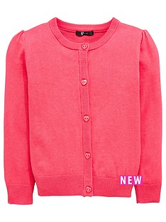 mini-v-by-very-girls-essential-pink-cardigan