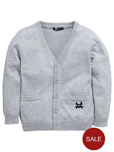 mini-v-by-very-boys-v-neck-cardigan-grey