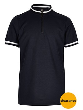 river-island-boys-blue-high-neck-polo-shirt