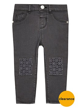 river-island-mini-girls-grey-crochet-jeans