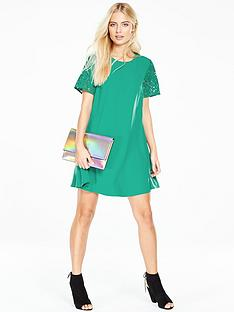 v-by-very-lace-sleeve-swing-dress