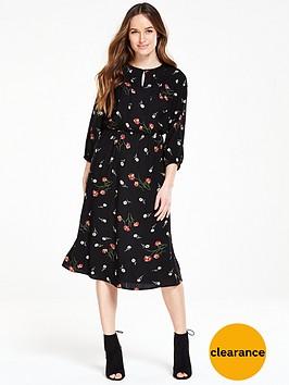 v-by-very-printed-midi-dress