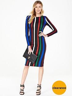 v-by-very-striped-ponte-bodycon-dress