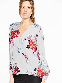 wallis-grey-floral-wrap