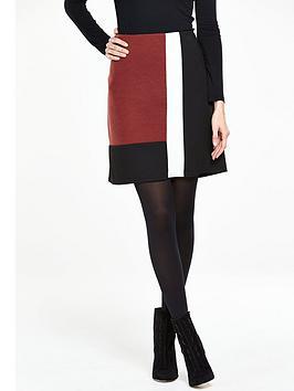wallis-colourblock-skirt