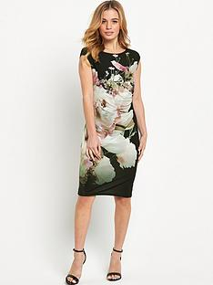 wallis-petite-floral-rouched-side