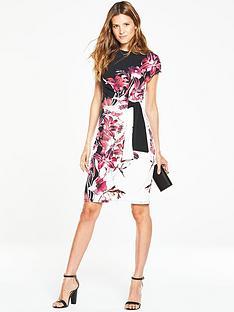 wallis-pink-lily-tie-side