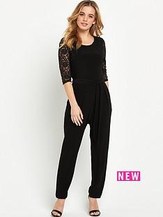 wallis-wallis-petite-lace-sleeve-jumpsuit