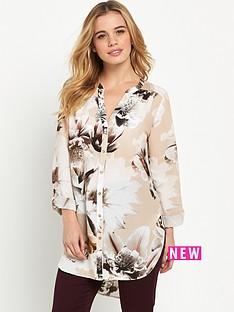 wallis-wallis-petite-orchid-shirt