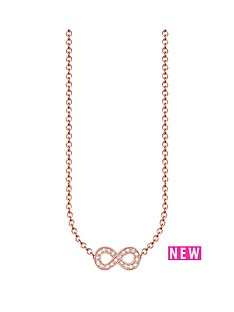 thomas-sabo-thomas-sabo-sterling-silver-rose-gold-plate-diamond-set-infinity-necklace