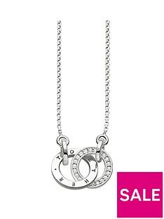 thomas-sabo-sterling-silver-diamond-set-together-forever-necklace
