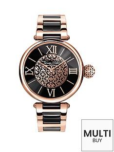 thomas-sabo-karma-black-dial-rose-detail-bracelet-ladies-watch