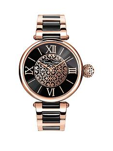 thomas-sabo-karma-black-dial-rose-detail-bracelet-ladies-watchnbspadd-item-ktjq4-to-basket-to-receive-free-bracelet-with-purchase-for-limited-time-only