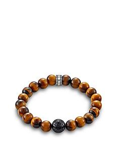 thomas-sabo-thomas-sabo-sterling-silver-obsidian-and-tigers-eye-semi-precious-stretch-bracelet