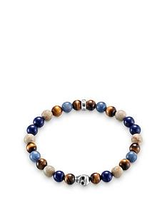 thomas-sabo-thomas-sabo-sterling-silver-skull-mixed-semi-precious-stretch-bracelet