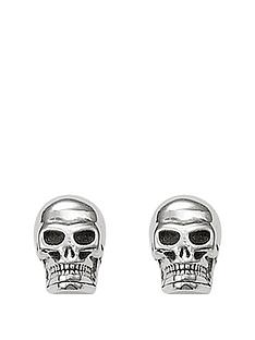 thomas-sabo-sterling-silver-skull-earrings